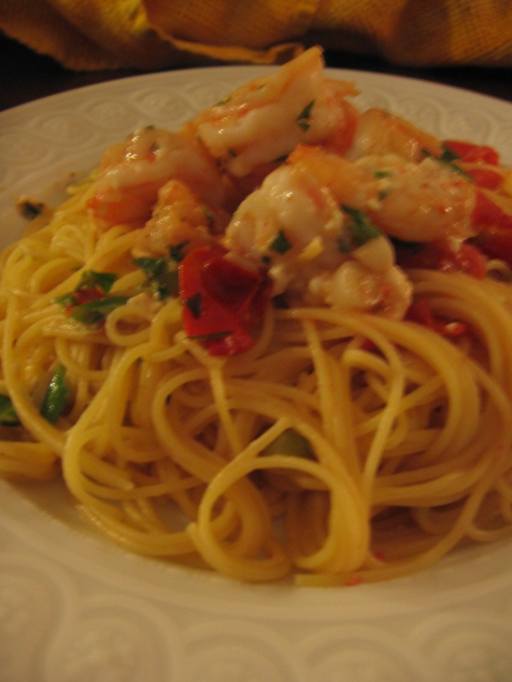 Shrimp and Feta Pasta 008