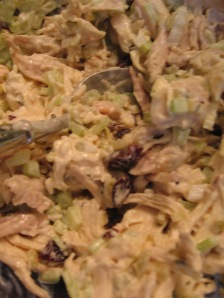 Chicken Salad with Dried Cherries