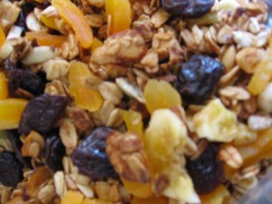 Toasted Granola with Dried Fruit