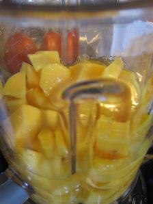 Mango in the Blender