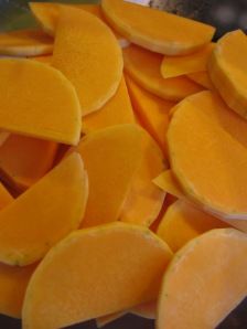 Slices of Butternut Squash