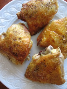 Browned Chicken Thighs