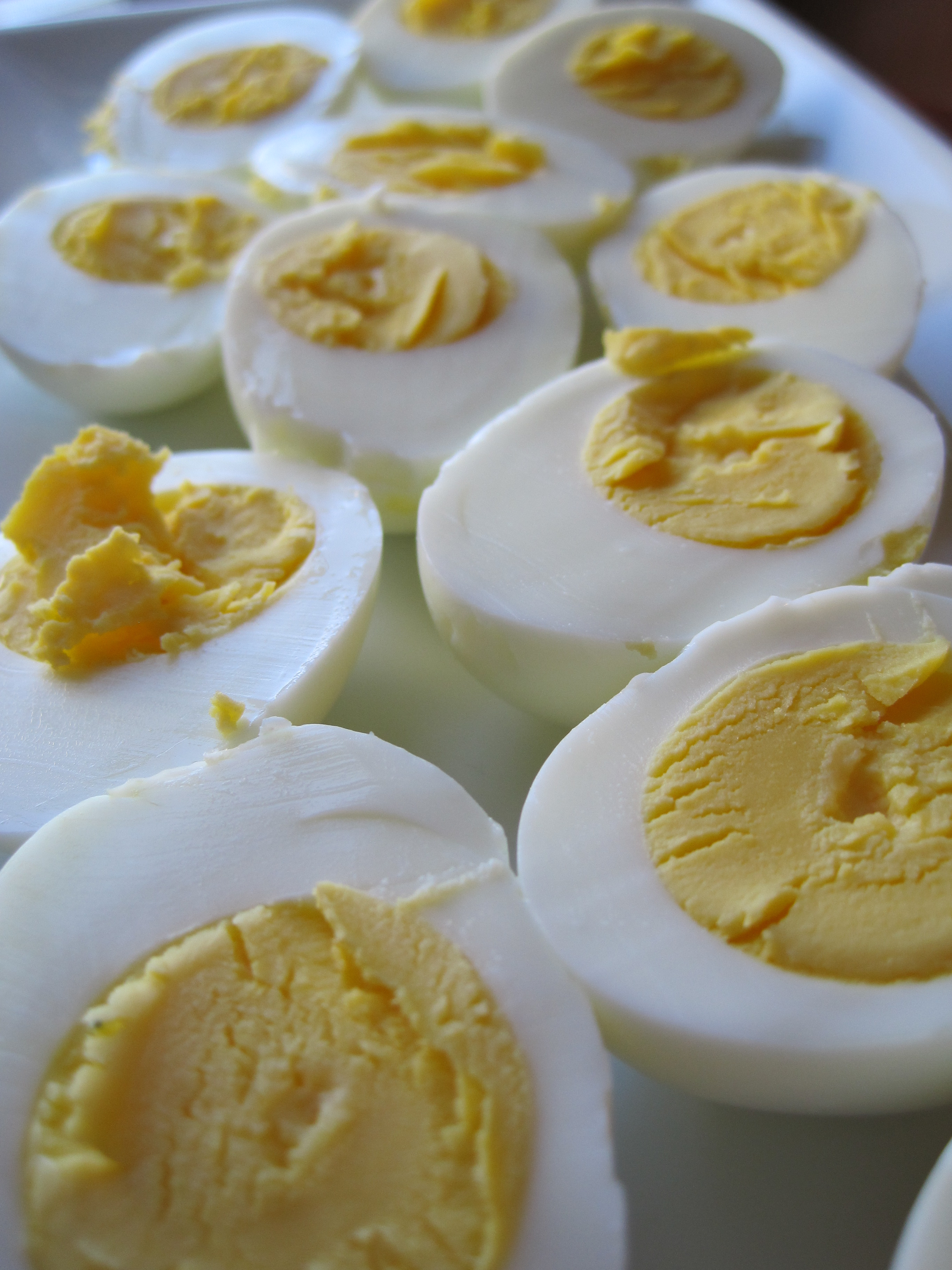 Deviled Eggs with Shrimp – Minced