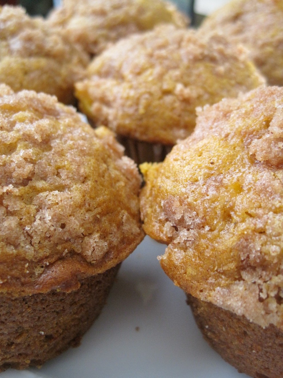 Autumn Apple and Pumpkin Muffins
