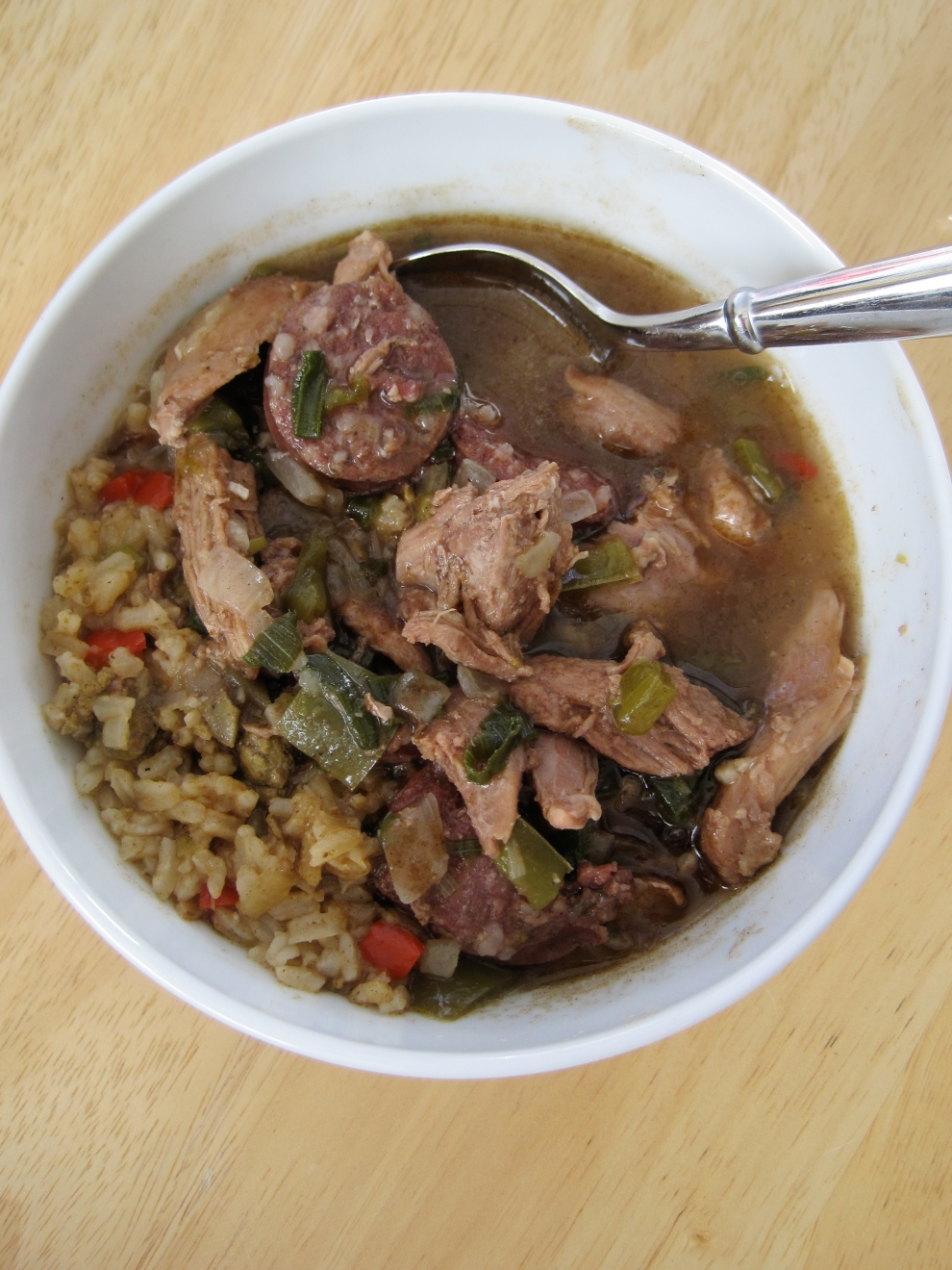 Spicy Duck Gumbo