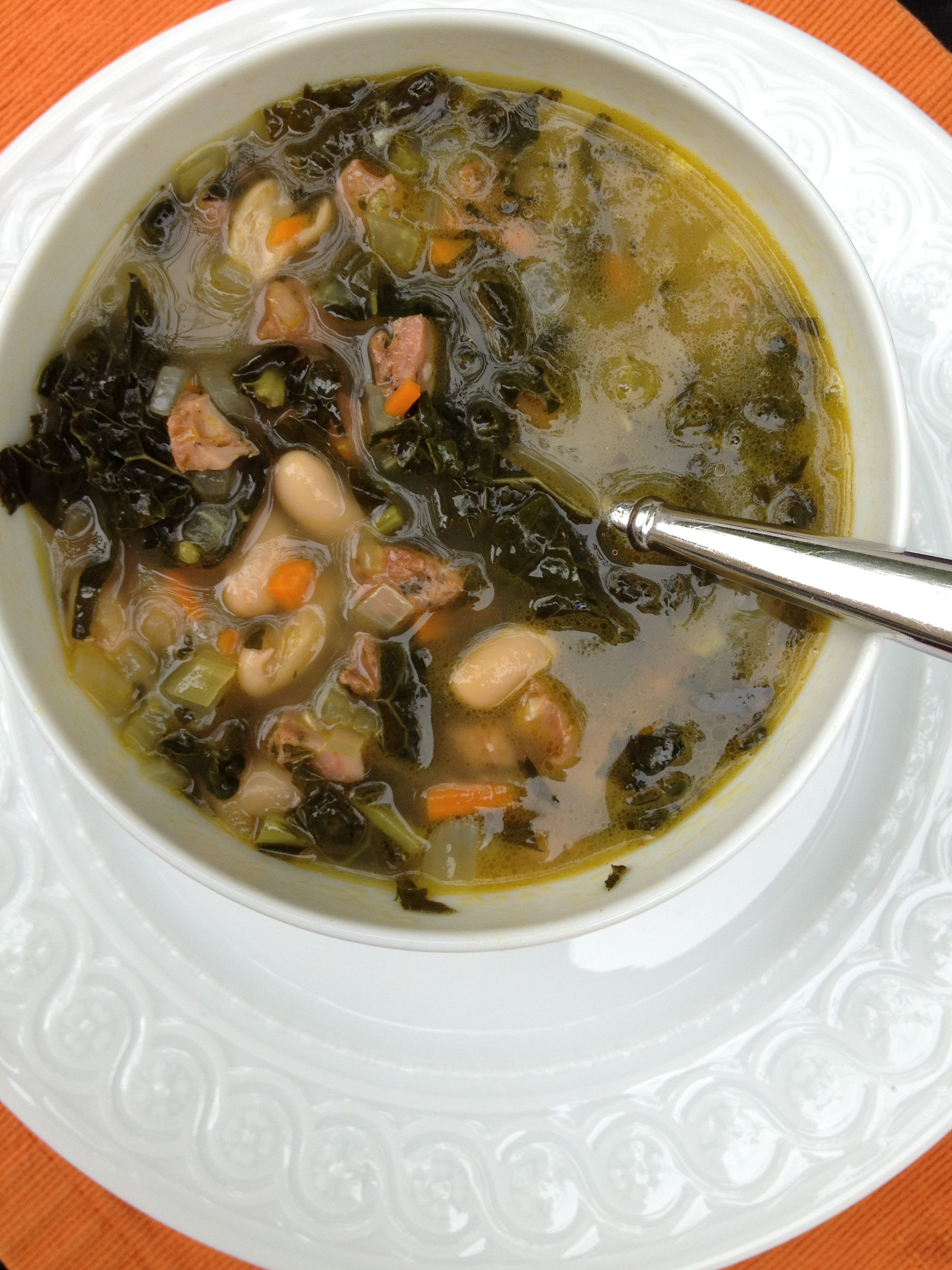 Kale, White Bean, and Sausage Soup | Minced