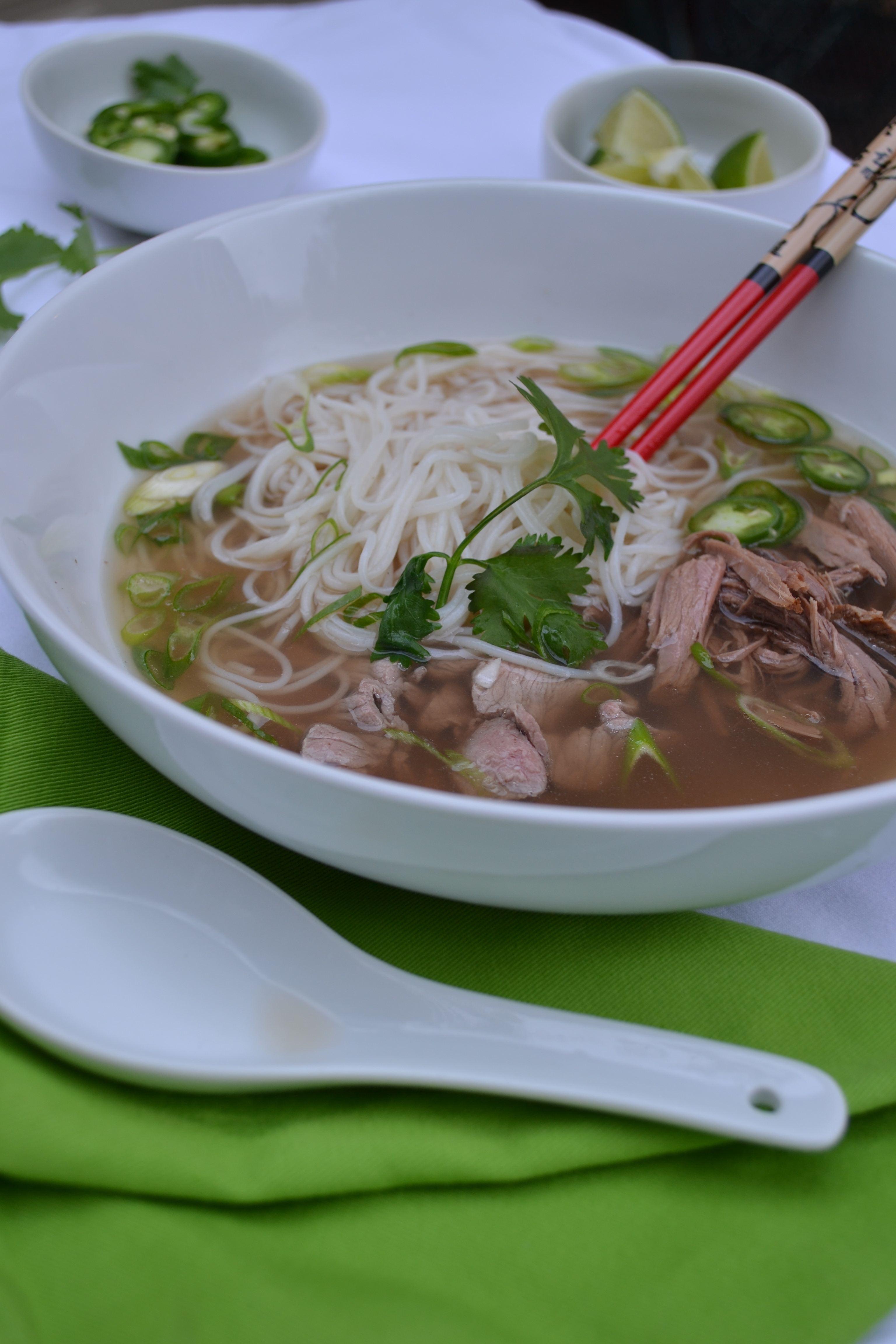Slow Cooker Vietnamese Beef Pho – Minced