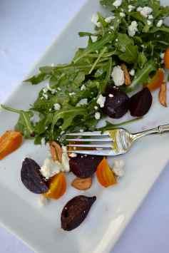 Jeweled Beet & Arugula Salad
