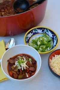 Chili with Toppings