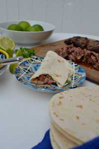 Lime and Jalapeno Marinated Flank Stea