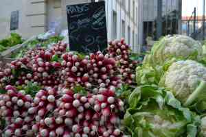 Radishes and Cauliflower - Marche d'Aligre