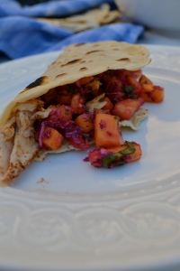 Grilled Mahi-Mahi Fish Tacos with Mexican-Inspired Slaw
