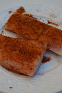Spiced Rubbed Mahi-Mahi