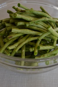 Long Beans Trimmed and Cut