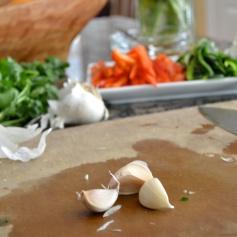 3 Garlic Cloves