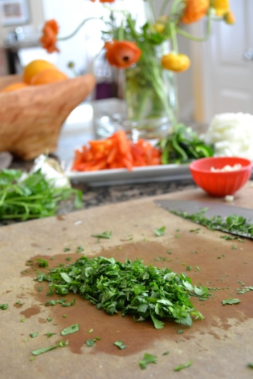 Finely Chopped Cilantro