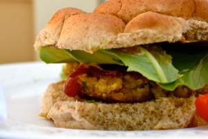 Quinoa Burger Photo