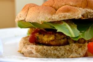 Quinoa Burger Photo
