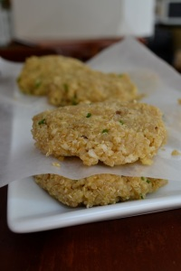 Quinoa Patties 2