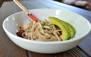 Cold Soba Noodles - Full Bowl