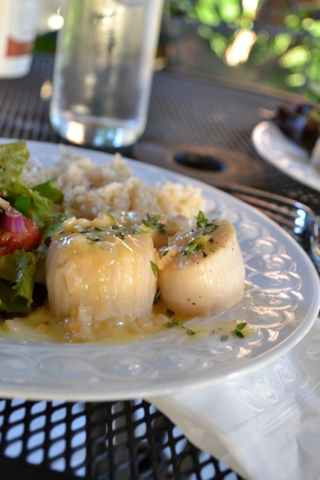 Scallops with Beurre Blanc