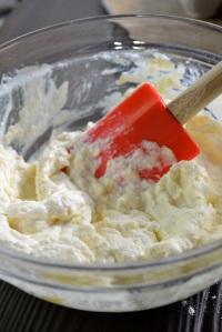 Gnudi dough before adding flour