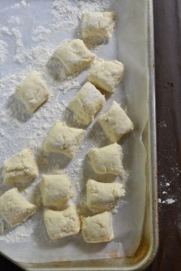 Gnudi dumplings - ready to cook