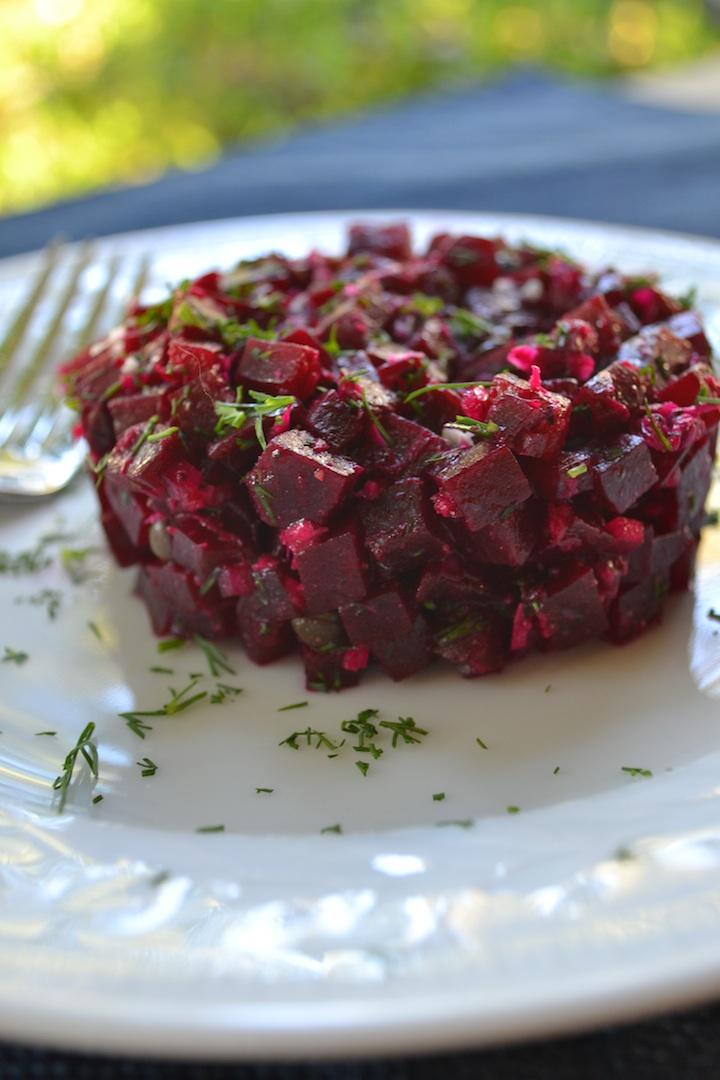 Roasted Beet Tartare Recipe — Dishmaps