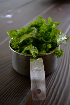 Chopped Mustard Greens