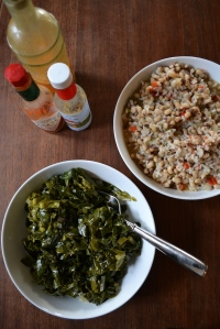 Barbara's Collard Greens and Hoppin' John