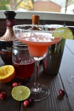 Cheers! Cranberry and Orange Margarita