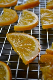 Close-up of Candied Orange