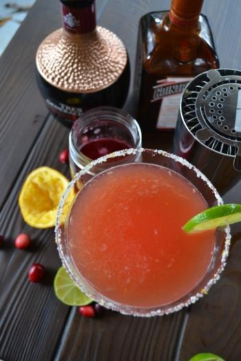 Cranberry and Orange Margarita
