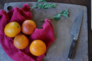 Blood Oranges, Oranges, and Mint