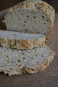 Cheese and Thyme Beer Bread