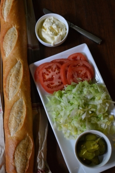 Baguette with Toppings