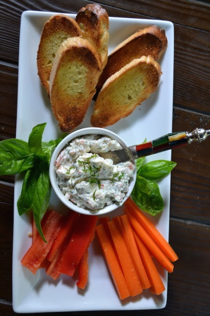 Ricotta-Fresh Herb Dip
