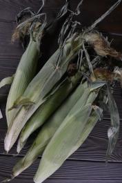 6 ears of corn