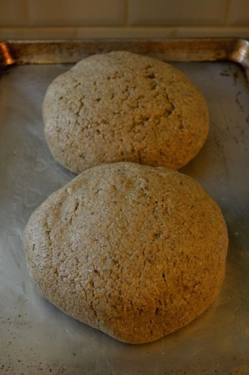 Rye Bread from the Oven