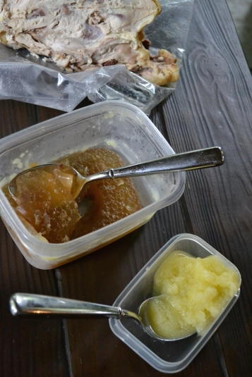 Stock and Chicken Fat