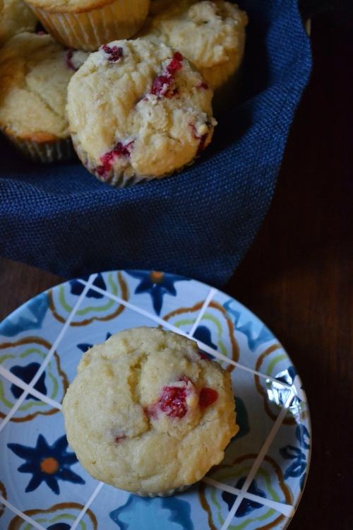 Corn & Cranberry Muffins