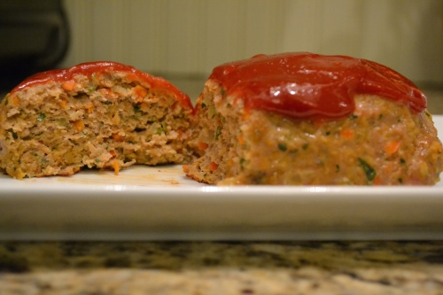 Turkey Meatloaf for Two