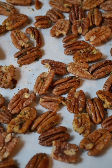 Ready to Eat or Gift - Spiced Pecans