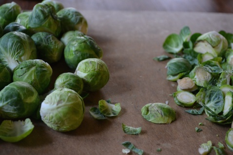 Trimmed Brussels Sprouts