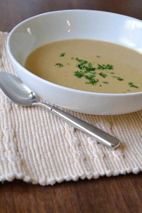Curried Cauliflower Soup