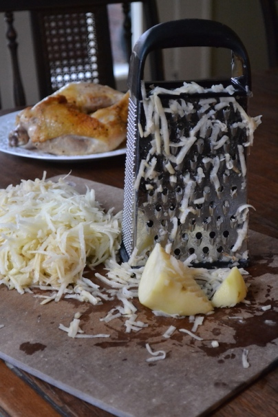 Grated Russet Potatoes 2