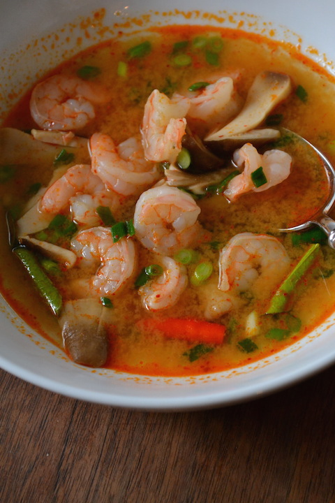 Tom Yum Goong Soup (Thai Hot And Sour Shrimp Soup) Recipes ...