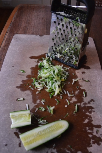 Grated Hothouse Cucumber