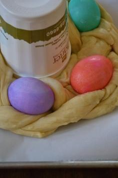 Close-up of Dough Braid
