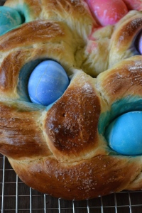 Easter Bread Close-Up